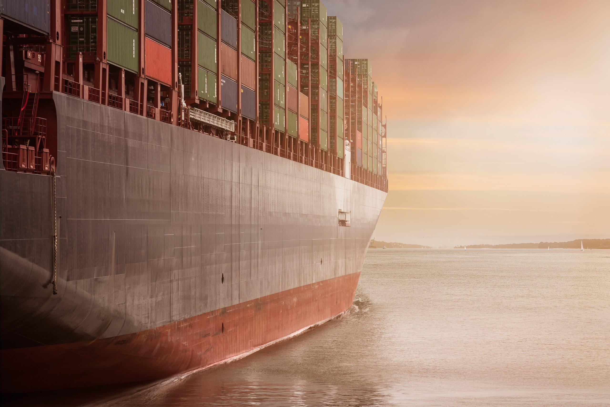 cargo ship sea freight