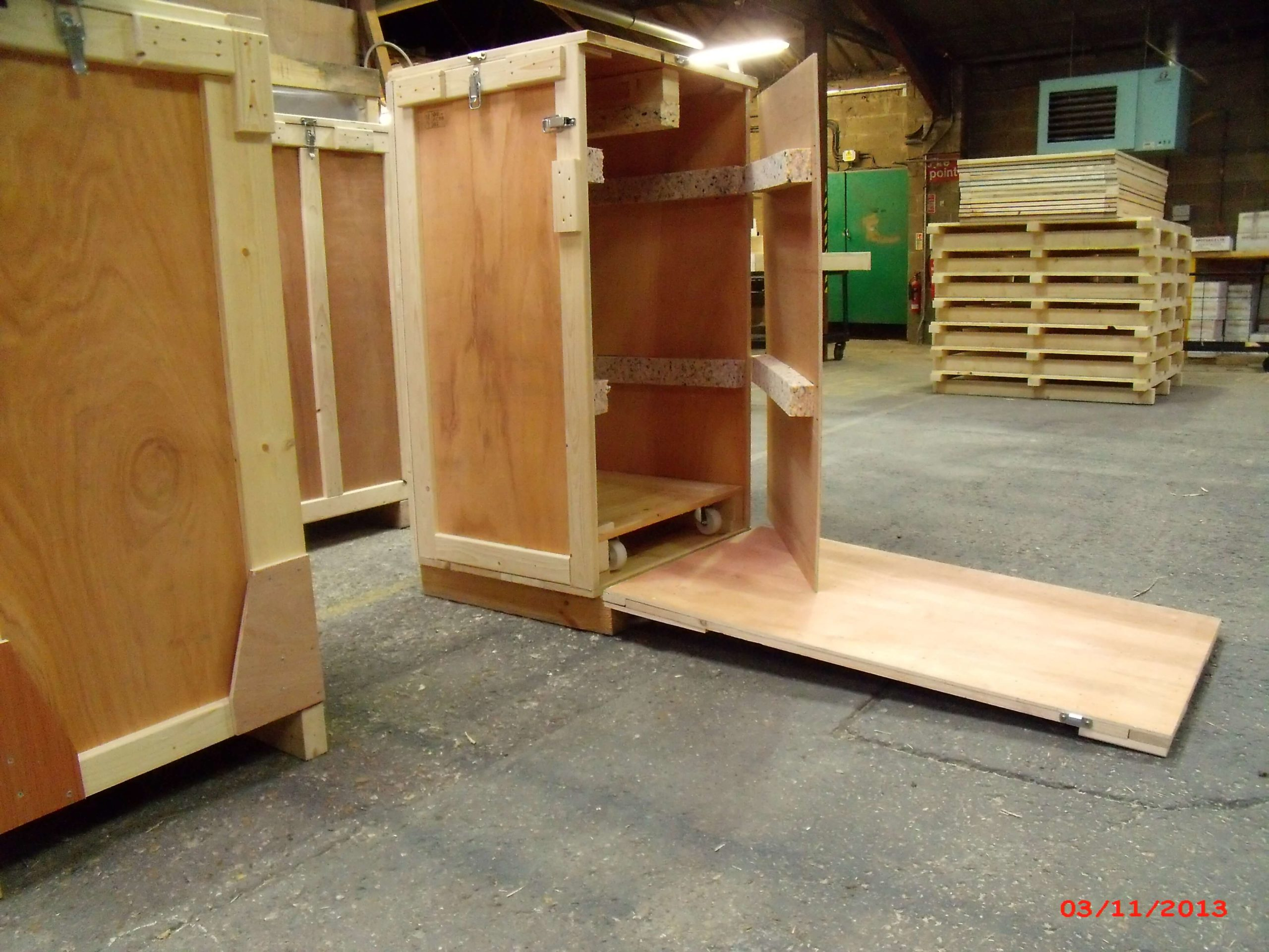 export packing wooden case